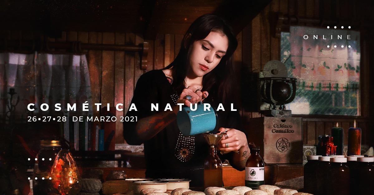 Cosmética Natural Marzo 2021