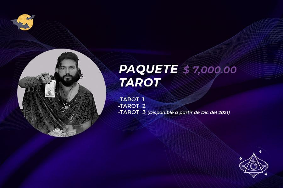 🎃🔮 Paquete Tarot 1 y 2 Grabados